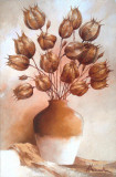 Tablou picturå - flori, Ulei, Miniatural