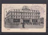 IASI  MARELE  HOTEL TRAIAN   IASSY  CLASICA  CIRCULATA 1909