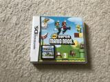 Joc Nintendo New Super Mario BROS la carcasa in limba engleza,perfect functional