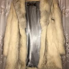 Haina Blana Naturala, Deschisa la culoare - haina de blana