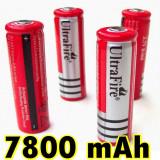 Acumulator 18650 3, 7V CELULA LAPTOP, Laser LANTERNA Ultrafire - Baterie Aparat foto