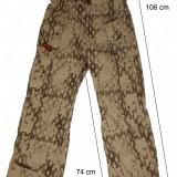 Pantaloni ski schi CRANE Thinsulate ventilatii impecabili(M)cod-450509 - Echipament ski, Barbati
