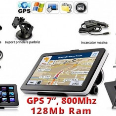 GPS Auto NaviTel 7, Navigatie AUTO, TAXI, TIR, CAMION, IGO 3D Full EUROPA + RO