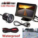 Kit marsalier monitor 4, 3 inch + camera marsalier - Camera mers inapoi