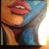Pictura pe panza - Pictor roman, Portrete, Acrilic, Impresionism