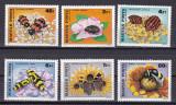 Ungaria  1980  fauna  insecte  MI 3405-3410  MNH  w47, Nestampilat