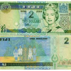 Fiji 2002 - 2 dollars UNC