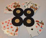 Cumpara ieftin Suporti vechi pentru carti de joc Canasta, Romme, Poker