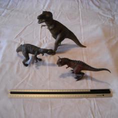 Schleich - 3 figurine dinozauri - T Rex, Carnotaurus si Allosaurus - Figurina Dinozauri, Unisex