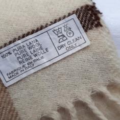 Fular barbati din lana 100% (6 modele)autentice - Fular Barbati US Polo Assn, Albastru
