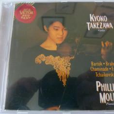 Bartok, Chaminade etc- Kyoko Takezawa - Muzica Clasica rca records, CD