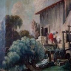 Tablou FERENCZY KAROLY - Pictor strain, Scene gen, Ulei, Realism