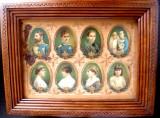 Regalitate   Romania ,Litografii  de  epoca familia   regelui  FERDINAND