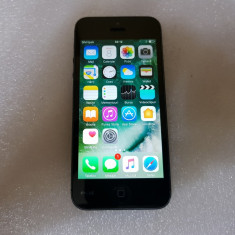 Telefon mobil iPhone 5 Apple, Black, 16GB- poze reale, Negru, Vodafone
