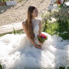 Ocazie rochie mireasa superba, Rochii de mireasa printesa