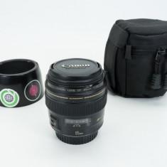 Canon 85mm f/1.8 USM - Obiectiv DSLR Canon, Tele, Autofocus, Canon - EF/EF-S
