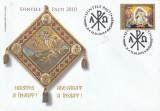 Romania FDC  Paste  2010  , nr lista 1858.
