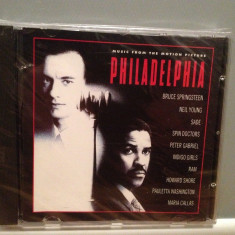 O S T - from Movie : PHILADELPHIA (193/SONY rec/AUSTRIA) - ORIGINAL/NOU/SIGILAT - Muzica soundtrack Epic rec, CD