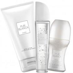 Set Femei - Pur Blanca - Parfum, Lotiune corp, roll-on - Avon - NOU - Set parfum