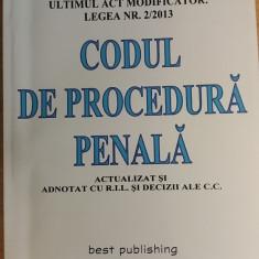 RWX 49 - CODUL DE PROCEDURA PENALA - Carte Codul penal adnotat