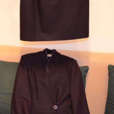 Compleu de dama deux-pieces - Costum dama, Marime: 38, Culoare: Din imagine