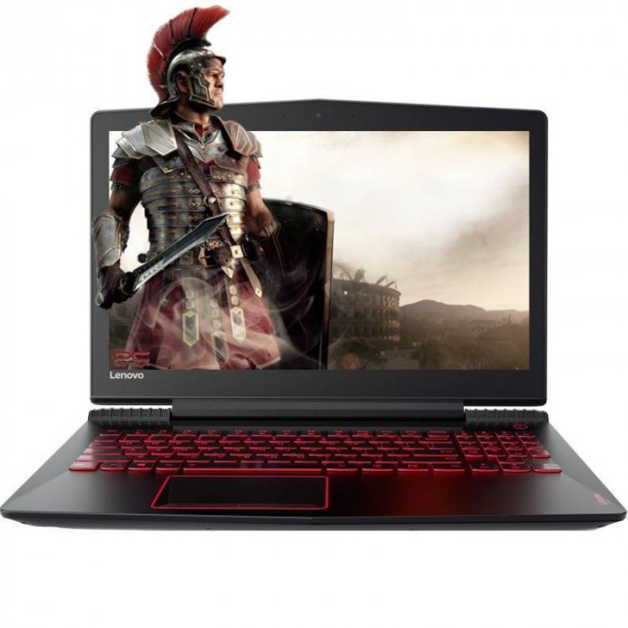 Laptop Lenovo Legion Y520-15IKBN 15.6 inch FHD Intel Core i5-7300HQ 4GB DDR4 1TB HDD GeForce GTX 1050 Black foto mare
