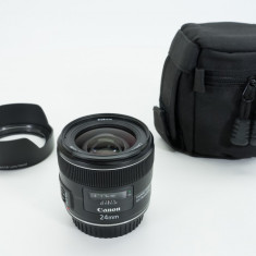 Canon 24mm f/2.8 IS USM, Wide (grandangular), Stabilizare de imagine, Autofocus