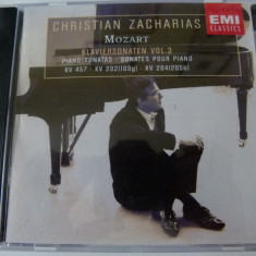 Mozart - klaviersonaten - Muzica Clasica emi records, CD