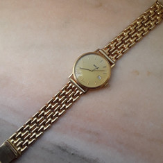 Ceas si brățara din aur - Ceas barbatesc Geneva, Quartz