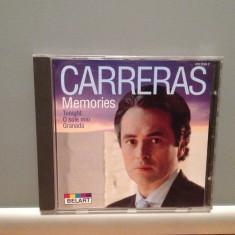 JOSE CARRERAS - MEMORIES (1991/DECCA /GERMANY) - ORIGINAL/ stare Foarte Buna - Muzica Opera decca classics, CD