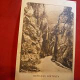 Ilustrata Defileul Bistrita circ. 1929, Ed.Gh.Fundatureanu, R.Valcea
