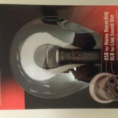 Microfon dinamic SAMSON Q2U Bundle - Microfon PC