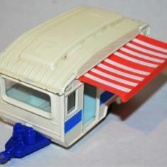 Macheta Gorgi Remorca rulota - Macheta auto Matchbox, 1:55