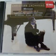 Mozart - klaviersonaten - cd - Muzica Clasica emi records