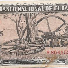 Cuba 10 Pesos 1960 - ( semnatura Che Guevara - 804153 ) P-88c - bancnota america