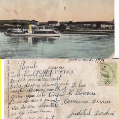 Silistra - Romania Noua, Cadrilater-Vapoare-Portul