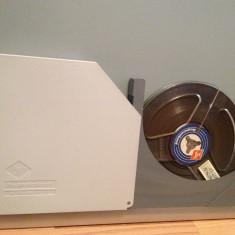 Banda Magnetofon AGFA in cutie - diametru rola 15 cm- stare foarte buna/RFG