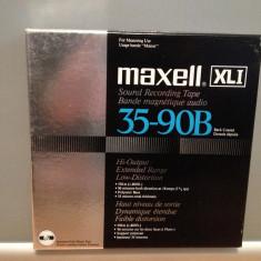 Banda Magnetofon MAXELL XLI 35-90B - for Mastering Use - in cutie - NOUA/JAPAN