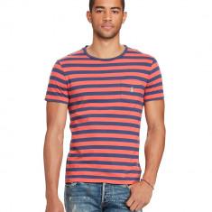 Tricou RALPH LAUREN Custom Fit - Tricouri Barbati - 100% AUTENTIC - Tricou barbati Ralph Lauren, Marime: M, Culoare: Din imagine, Maneca scurta, Bumbac