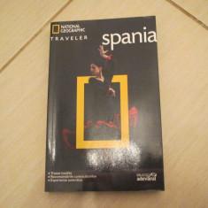 NATIONAL GEOGRAPHIC TRAVELER GHID TURISTIC SPANIA BIBLIOTECA ADEVARUL - Ghid de calatorie
