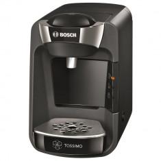 Espressor + 12 cutii capsule L'Or, Bosch Tassimo Suny TAS 3702, 1300 W, 3.3 bar, 0.8 l, Capsule, Negru - Cafetiera