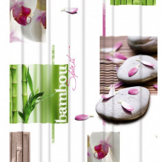 Perdea de dus vinil imprimata Orhidée 180x200cm Arvix