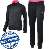 Trening Adidas Logo pentru femei - original - treninguri barbati - Trening dama Adidas, Marime: S, M, Culoare: Negru, Poliester