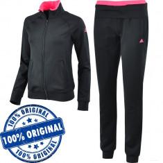 Trening Adidas Logo pentru femei - original - treninguri barbati - Trening dama Adidas, Marime: S, Culoare: Negru, Poliester