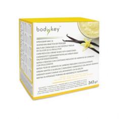 Băutură cremoasă cu un conţinut redus de glucide şi cu îndulcitor,  bodykey™
