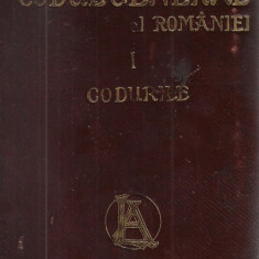 Hamangiu / CODUL GENERAL AL ROMANIEI, vol.I : CODURILE  - editie 1907