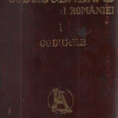 Hamangiu / CODUL GENERAL AL ROMANIEI, vol.I : CODURILE - editie 1907 - Carte Istoria dreptului