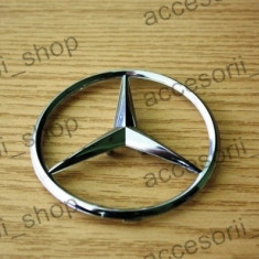 Emblema MERCEDES 90 mm, Mercedes-benz