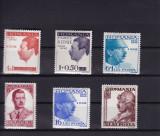 ROMANIA 1940  LP 139  CAROL II 10 ANI DE DOMNIE SERIE MNH