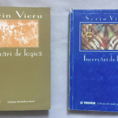 Sorin Vieru - Incercari de logica 2 volume